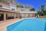Luxury spacious villa for sale Montgo Javea