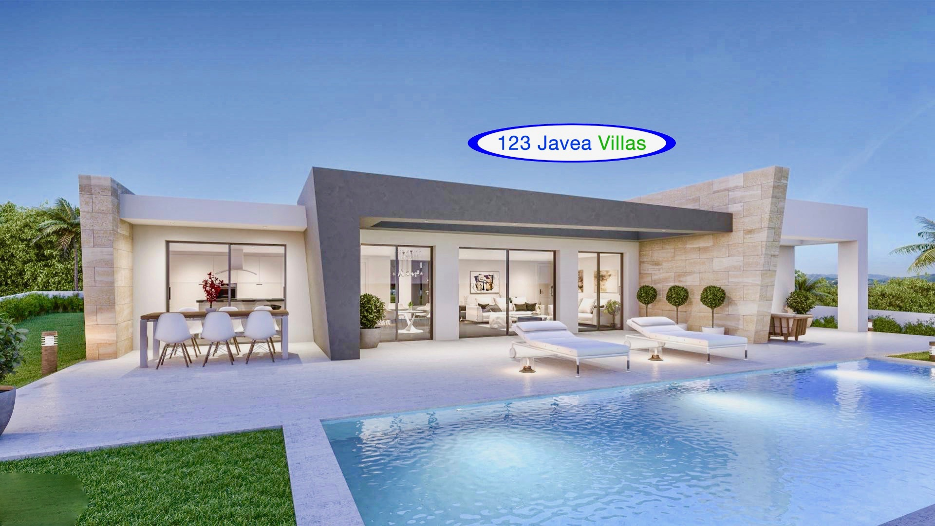 Javea Spain New Construction Villa For Sale 123 Javea Villas