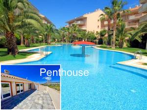 Penthouse apartment for sale in Javea