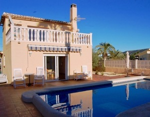 Villa to let near Javea Golf Club