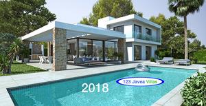 Javea New build villa for sale