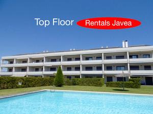 Top floor duplex for long term rental in Javea.