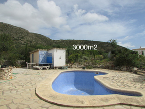 Finca for sale La Xara