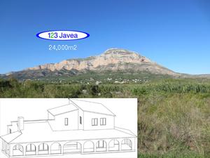 New build villa for sale in Javea montgo