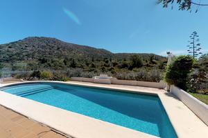Villa for sale in La Xara close to the Montgo