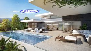 Javea New build villa for sale with sea view