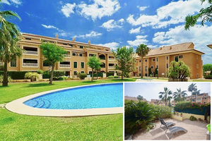 Ground floor modern apartment to let for winter in Javea Port