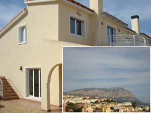 Large 3 bedroom villa for sale in Gata de Gorgos