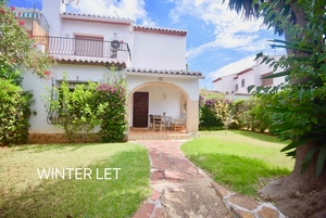 2 Bedroom townhouse winter let in Javea.