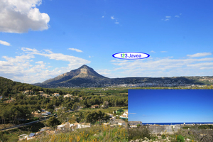 Building plot with sea views for sale in Javea