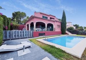 Villa for winter rental with sea views in Javea