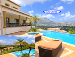 Luxury villa with sea view for sale in Javea