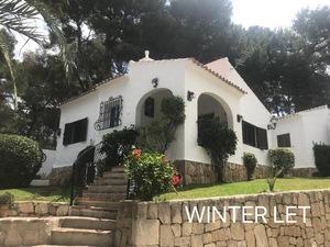 Villa for winter rental in Javea Arenal