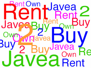 Rent to buy in Javea