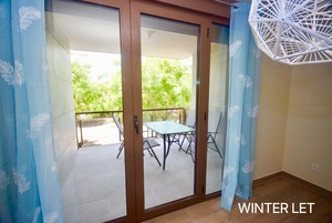 2 Bedroom apartment for winter rental in Javea.