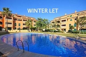 Ground floor apartment for winter rental in Javea Port