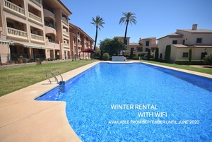 Townhouse winter let Javea Port.