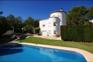 Villa for sale in Javea Covatelles.