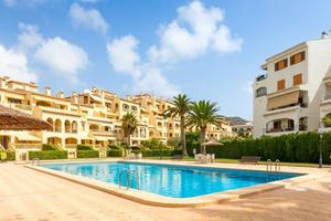 2 bed apartment for long term rental Javea Port.