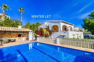Villa for winter rental Balcon Al Mar.