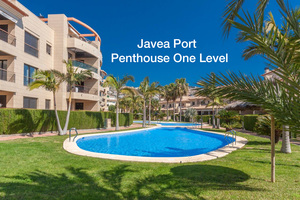 Penthouse on one level for sale in Javea Port