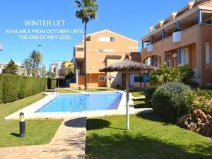 Top floor apartment to let in Javea Arenal