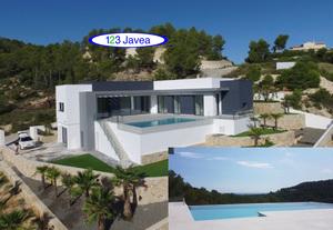 New Sea View Villa for sale in Javea