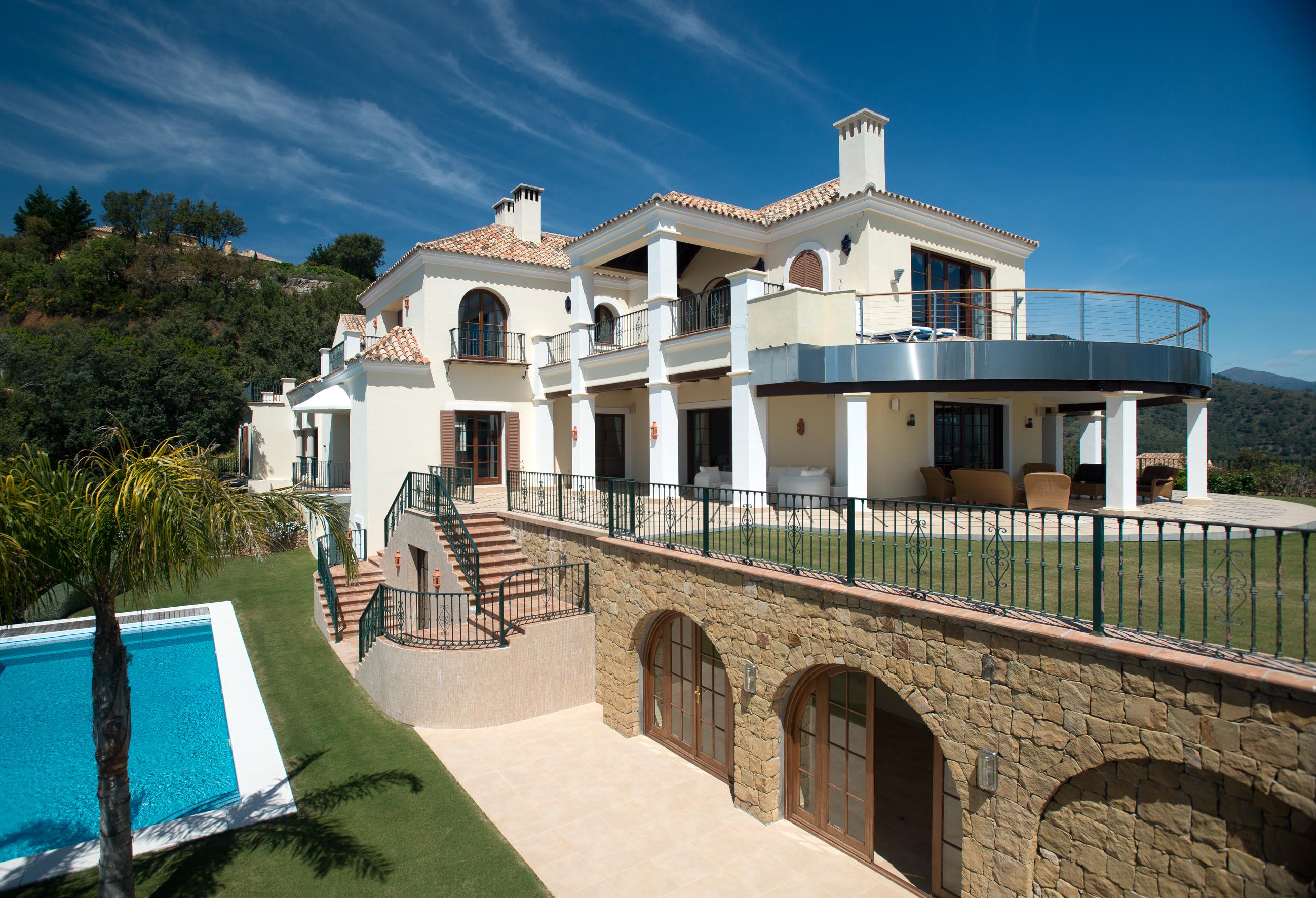 Вилла в Малага, площадь 1580 м², 6 спален