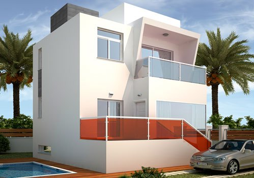 Вилла в Аликанте - Коста Бланка, площадь 185 м², 3 спальни