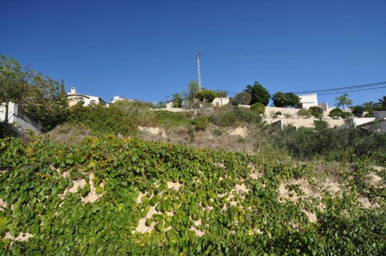 Plot in Benissa, Alicante