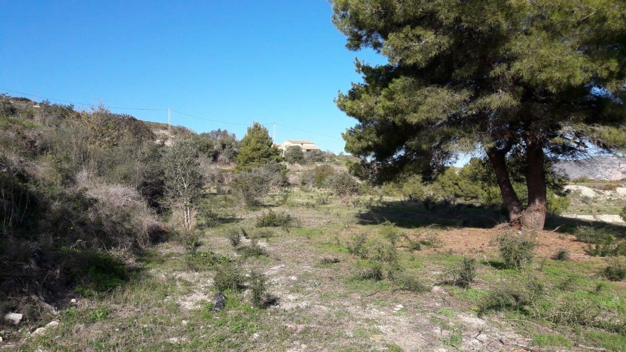 Plot in Moraira, Alicante