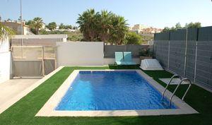 3 bedroom 2 bathroom modern villa in Villamartin with private pool