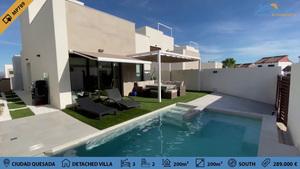 3 bedroom detached villa in Ciudad Quesada