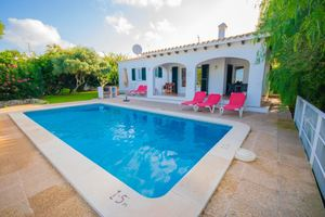 Beautiful detached villa in Cala'n Porter, Menorca