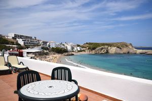 Fabulous apartment in Arenal d`en Castell, Menorca - front line to beach