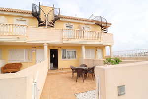 2 bedroom duplex in Cabo Roig with sea view