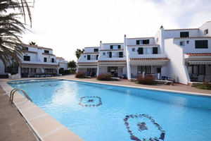 4 bedroom, 3 bathroom, 3 floored terraced villa in Fornells, Menorca