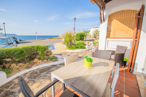 1 bedroom apartment with sea vies in Playa de Fornells, Menorca