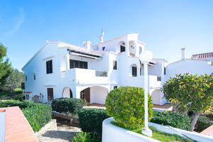 Large 2 bedroom ground floor apartment in Son Bou, Menorca