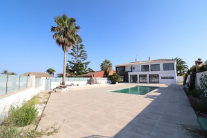 Unfinished 4 bedroom villa with private pool - 2nd line from the sea