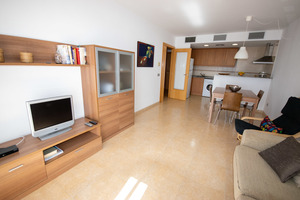 1st floor two bedroom apartment in Es Mercadal, Menorca with communal pool