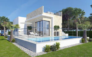 New build 4 bedroom villa in Finestrat