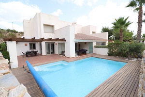 3 bedroom 3 bathroom terraced house in Las Colinas Golf with private pool