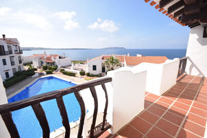 2 bedroom apartment in Playa Fornells, Menorca