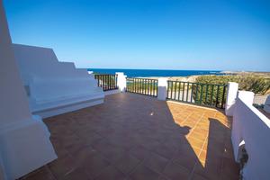 Front line 2 bedroom apartment in Son Parc, Menorca