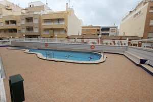 2 bedroom, 1 bathroom apartment in La Mata, 100 metres to the beach