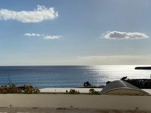 Front line studio apartment in Santa Tomas in Menorca