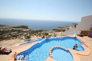 3 bedroom 2 bathroom duplex in Cumbre Del Sol