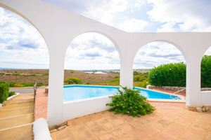 2 bedroom refurbished apartment with sea views in Son Parc