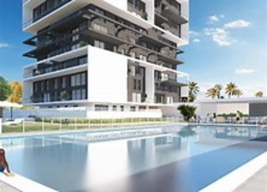 3 bedroom apartments in new build in Calpe